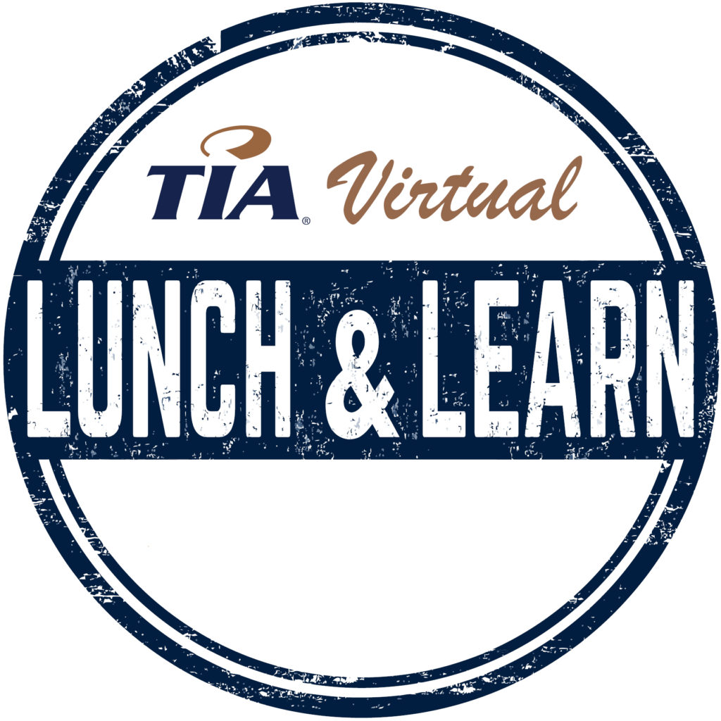 TIA Virtual Lunch & Learn Logo